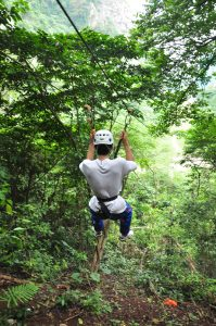 Glide our 250M Zip line